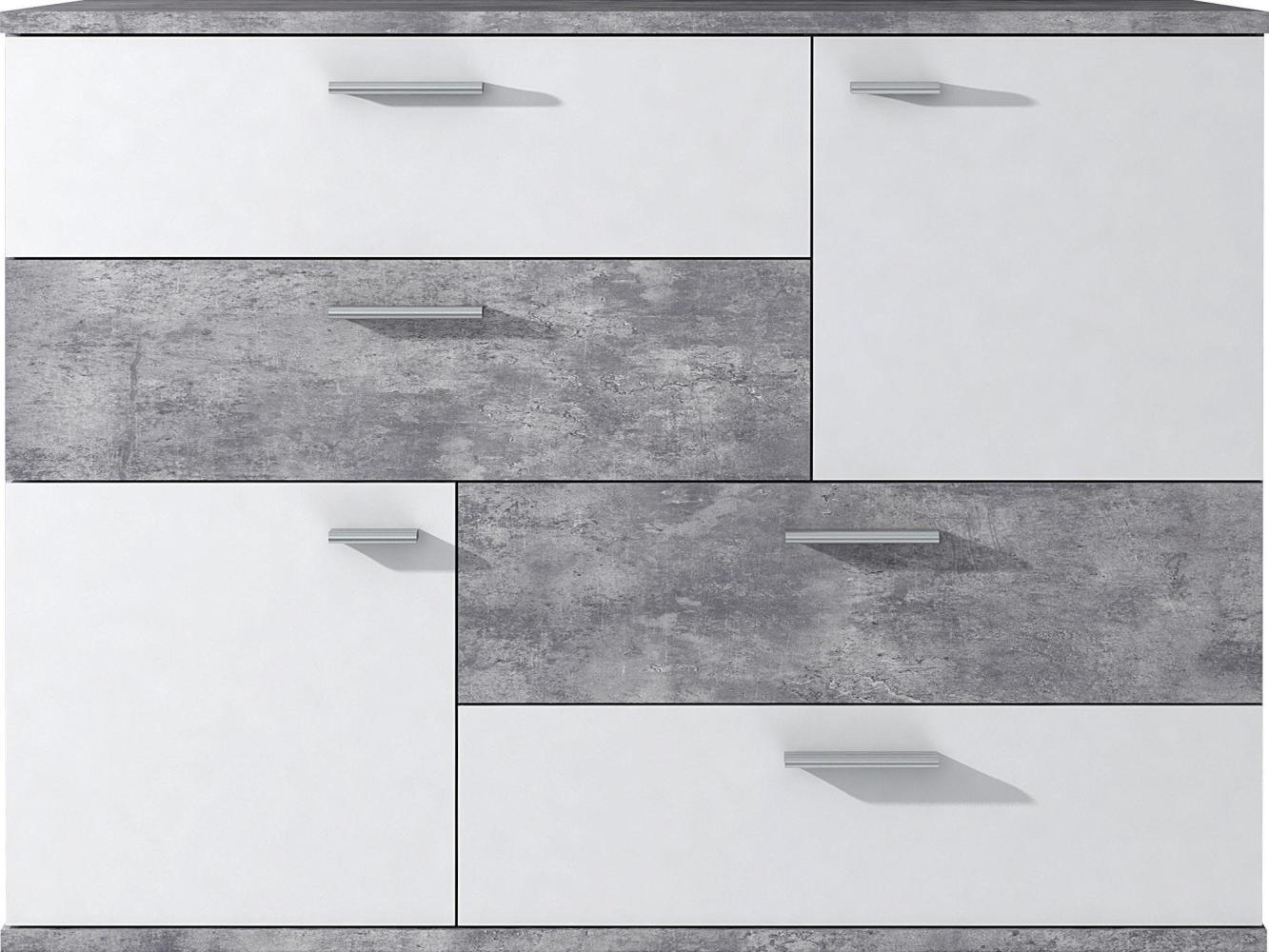 Kommode SKIVE Betonoptik Bild 1