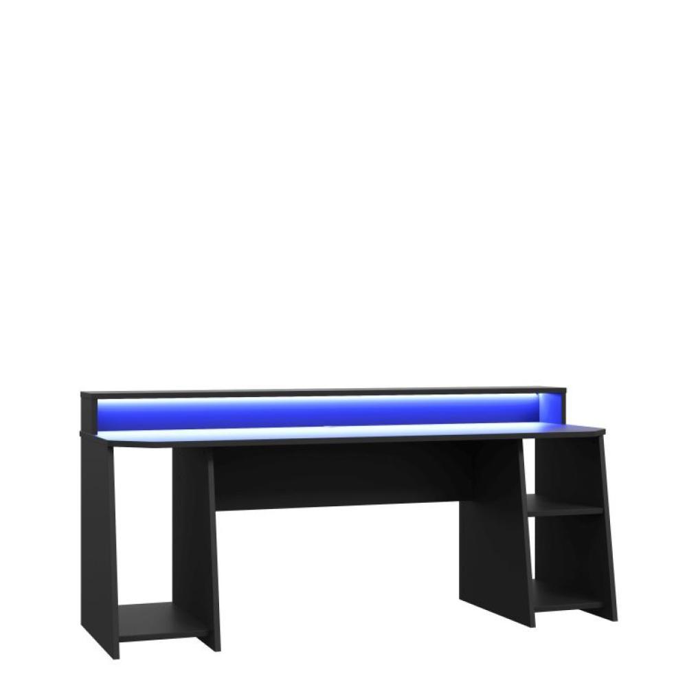 'TEZAUR' Schreibtisch, schwarz Bild 1