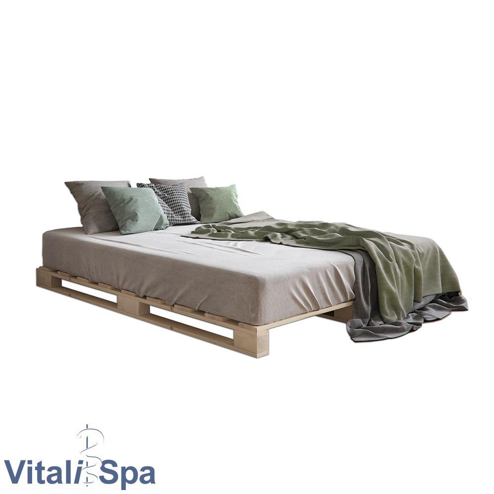 VitaliSpa Palettenbett 140x200cm Bild 1