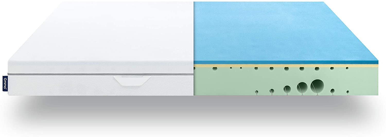 EMMA One 7-Zonen Visco-Schaummatratze, Liegegefühl Hart, Öko-Tex zertifiziert, 120 x 200 cm Bild 1