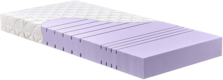 Betten-ABC 'KSP-1500 Deluxe' Kaltschaummatratze mit komfortablen 7 Zonen und Klimafaserbezug, 180 x 200 cm, H3 Bild 1