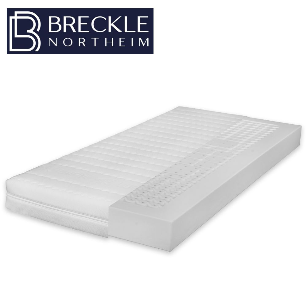 Breckle MyBalance 20 7-Zonen-Form-Kaltschaummatratze 90x190 cm (Sondergröße), H4 Bild 1