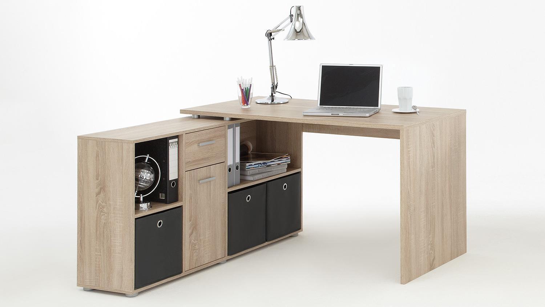 Schreibtisch 'LEXX', Sonoma Eiche sägerau Bild 1