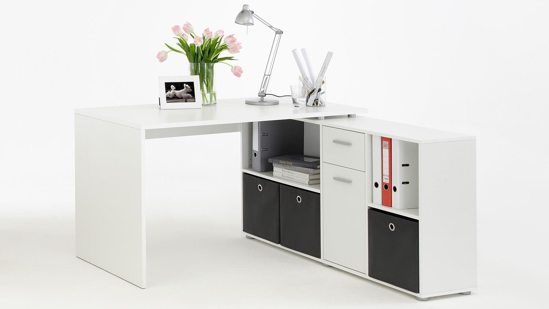 Schreibtisch 'LEXX' , weiß Bild 1