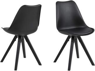2er-Set 'DIMA' Stuhl, schwarz