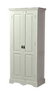 SIT-Möbel Schrank 80 cm x 45 cm x 180 antikweiß