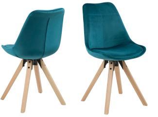 Stühle im 2-er Set DIMA, flaschengrün
