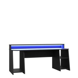 'TEZAUR' Schreibtisch, schwarz