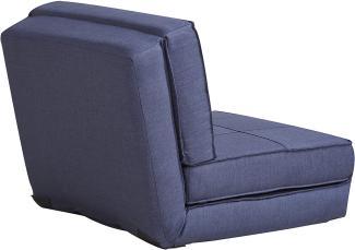 ARTDECO Schlafsessel klein, blau