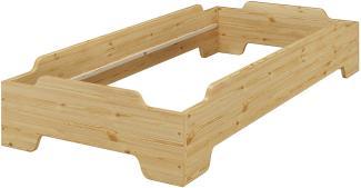 Erst-Holz Stapelbett 90x190