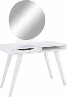 Wimex 'Dressertable' Schminktisch weiß mit Spiegel
