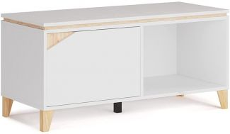 Vicco Lowboard TV-Board Sideboard Luisa weiß Fernsehschrank TV-Schrank 120x45cm