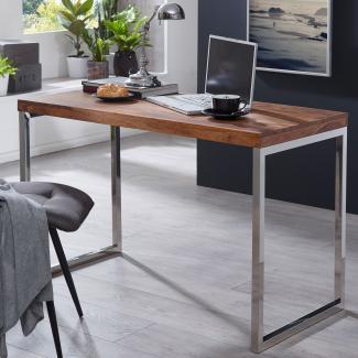 Schreibtisch SV44437 Massivholz Computertisch 120 x 60 cm