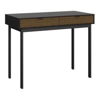 Schreibtisch 'SOMA' 077, Kiefer massiv braun