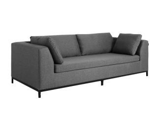 3-Sitzer Bettsofa 'Ambient', grau