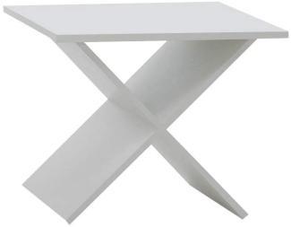 FMD Möbel 'Phil' Beistelltisch in weiß