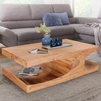 Couchtisch Massiv-Holz 120 cm breit