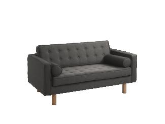 2-Sitzer Sofa 'Topic Wood', grau