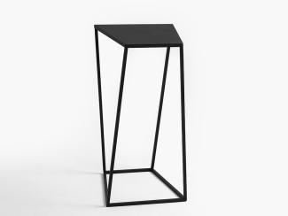 Furnilovers Beistelltisch ZAK METAL, schwarz 30 cm