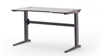 Schreibtisch McRACING Gaming Desk Racer Carbon Look mit LED