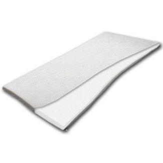 Doctor Sleep 'meditopper' Matratzentopper 90 x 200 cm, H2 (RG 55), Kernhöhe 4 cm, Bezug: Milano Glatt