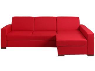 Eck-Bettsofa 'Lozier', rot, rechts