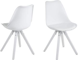 2er-Set 'DIMA' Stuhl, weiß
