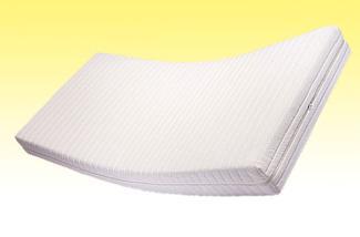Doctor Sleep 'mediluxus' Matratze 90 x 200 cm, H3/H4 (HR 45), Kernhöhe 16,5 cm, Bezug: Milano