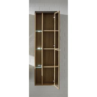 Hängeschrank Bay Eiche Riviera Honig und grau Beton Design 160 cm