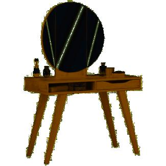 Wimex 'Dressertable' Schminktisch eiche mit Spiegel
