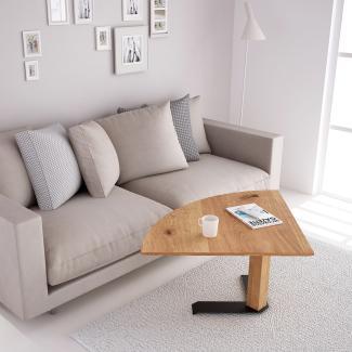 Home-Office - Lift-Couchtisch Wildeiche
