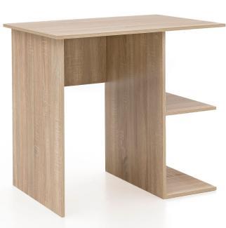 Schreibtisch 82 x 76 x 60 cm mit Ablage