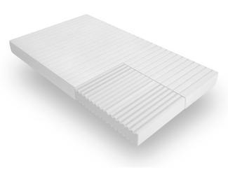 Mister Sandman 7-Zonen Kaltschaummatratze mit Mikrofaserbezug, H3, 90 x 200 cm