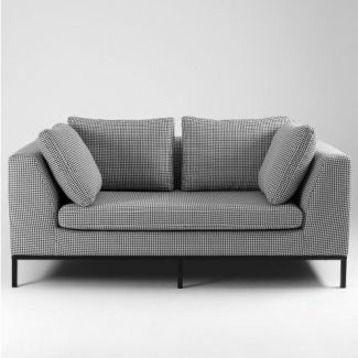 2-Sitzer Sofa 'Ambient', grau kariert