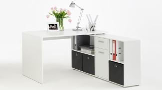 Schreibtisch 'LEXX' , weiß
