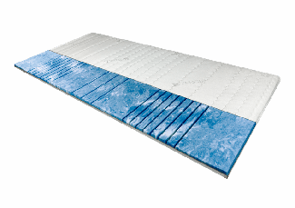 AM Qualitätsmatratzen | 7-Zonen Deluxe Gelschaum-Topper 120x200 cm - 8 cm Höhe