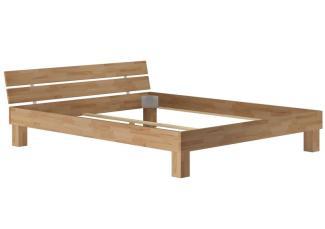 Erst-Holz Großfamilienbett Überlänge 200x220 Doppelbett massive geölte Buche V-60. 86-20-220 ohne Zubehör