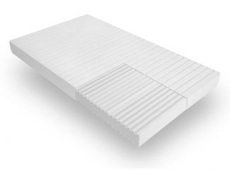 Ergonomische 7-Zonen Kaltschaummatratze, H3, Höhe 15 cm, 90 x 200 cm